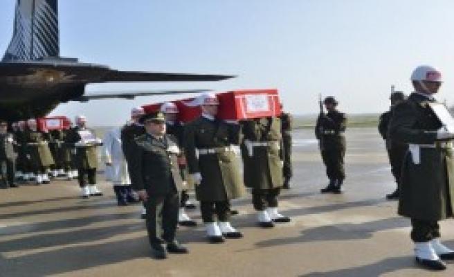 Şehit Cenazeleri Memleketleri Samsun'da