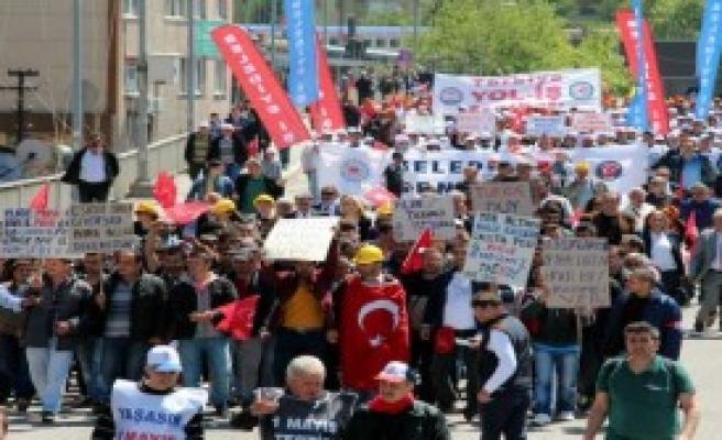 Zonguldak'ta, 1 Mayıs Coşkuyla Kutlandı