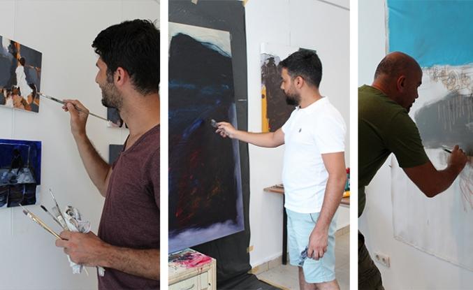 'Altın Yunus Sanat Atölyeleri'ne yoğun ilgi
