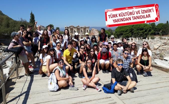 TAKEV, Erasmus+ kapsamında Avrupalı öğrencileri ağırladı