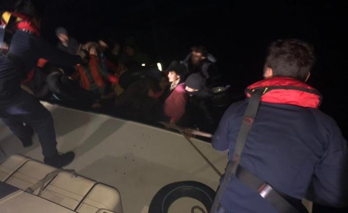 İzmir'de 36 mülteci yakalandı