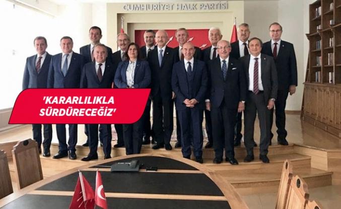 CHP'li Büyükşehir Belediye Başkanları'ndan ortak bildiri!