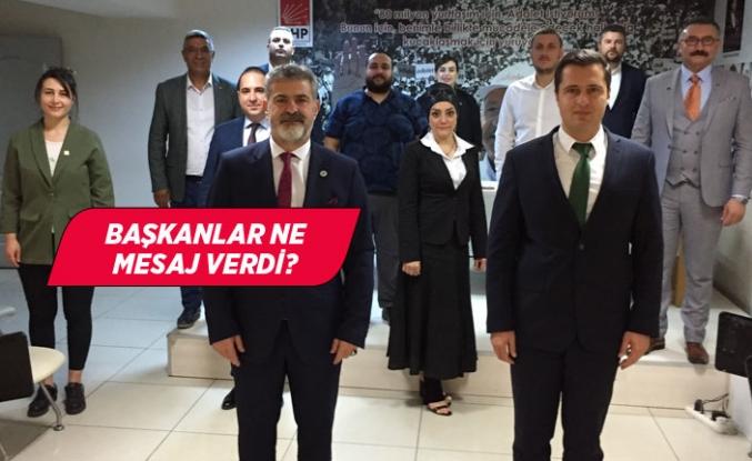 Gelecek Partisi'nden CHP İzmir'e ziyaret