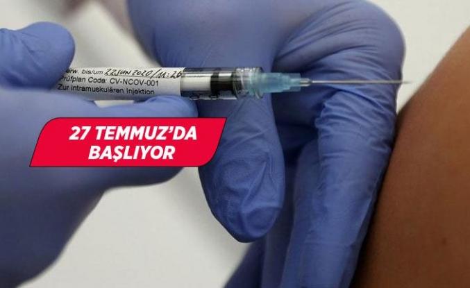 Corona virüsü aşısında tarih açıklandı