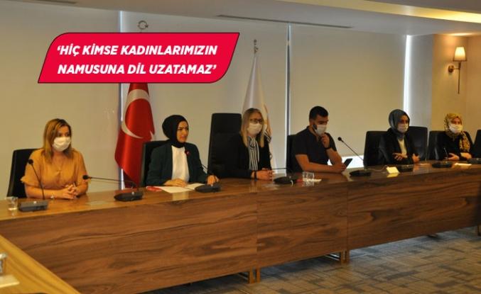 AK Parti İzmir'in kadınlarından Dilipak'a suç duyurusu!