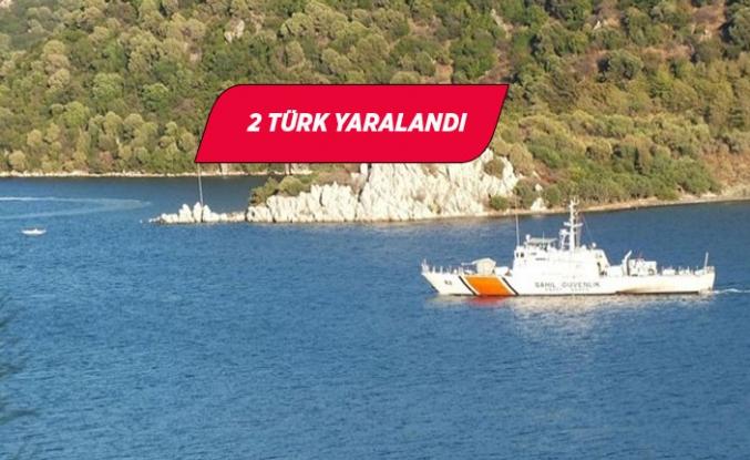 Özel tekneye Yunan ateşi iddiası