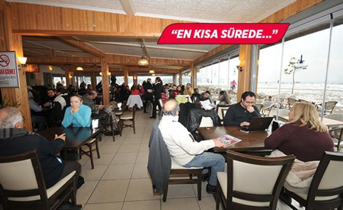 Büyükşehir'den Yasemin Kafe açıklaması