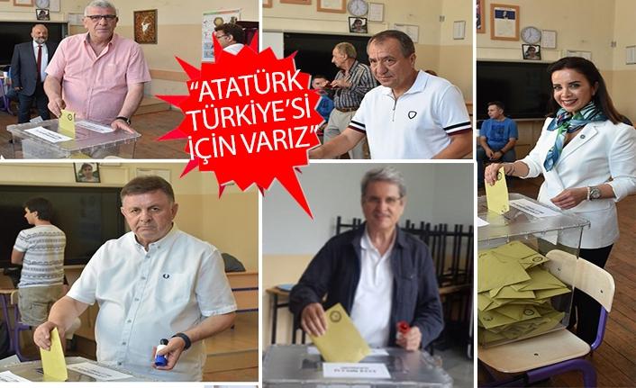 İYİ Parti adaylarından açıklamalar