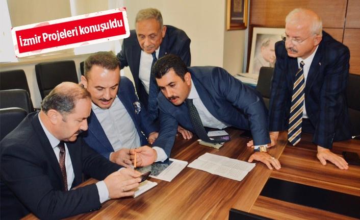 AK Parti İzmir ekibinden, Ankara çıkarması
