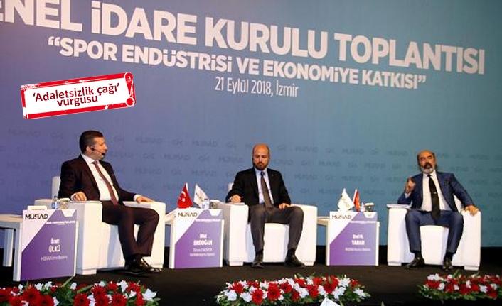 Bilal Erdoğan'dan İzmir'de destek açıklaması