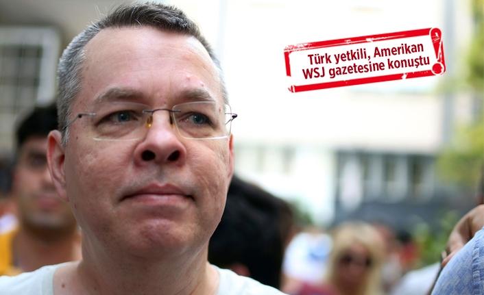"""""""Brunson 12 Ekim'de serbest bırakılabilir"""""""