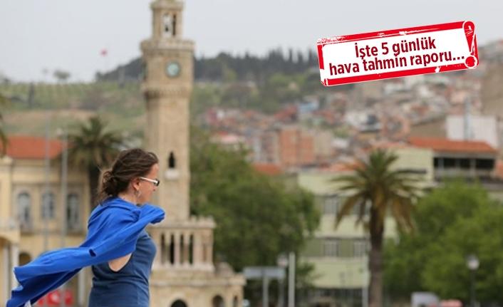 İzmir, yaza veda ediyor: Yeni haftada hava nasıl olacak?