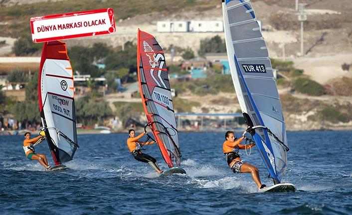 Rüzgarın şampiyonları, Çeşme'de belirlendi