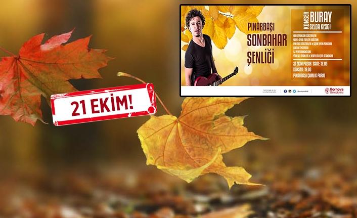 Bornovalılar Pınarbaşı Sonbahar Şenliği'nde buluşacak!