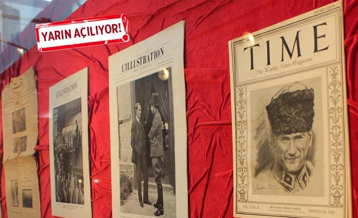 Bugüne kadar yapılmış en kapsamlı Atatürk sergisi olacak!