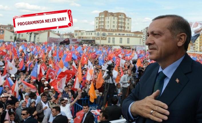 Erdoğan bugün İzmir'e geliyor!