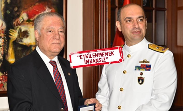 Nusret komutanlarından İzmir'e övgü