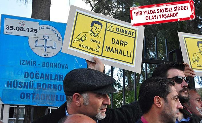 İzmir'de öğretmene şiddet!