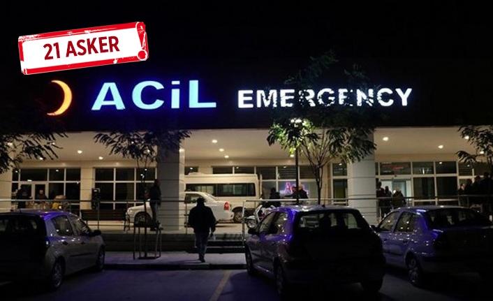 Manisa'da askerler 'yine' hastanelik oldu