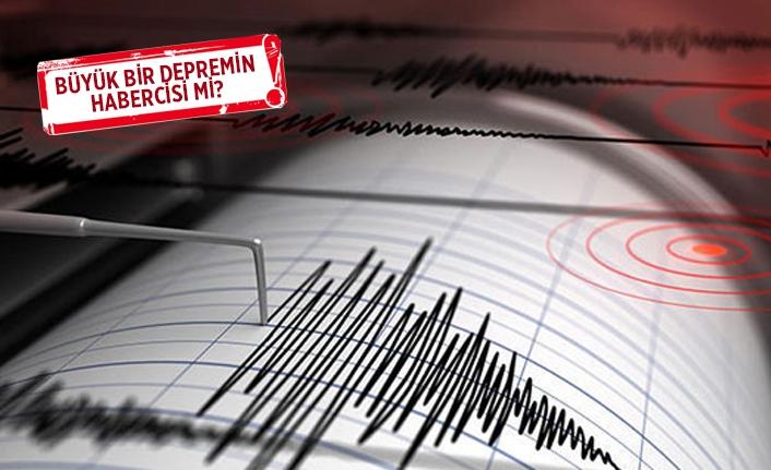 Ege'deki depremler tedirgin etti!