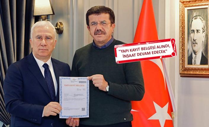 Zeybekci'den Karşıyaka'ya 'stat' müjdesi