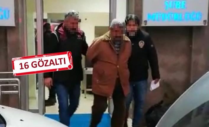 HDP il binasına 'açlık grevi' operasyonu