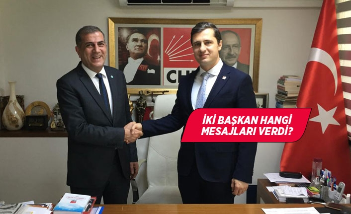 İYİ Partili Kırkpınar'dan CHP'li Yücel'e tebrik ziyareti