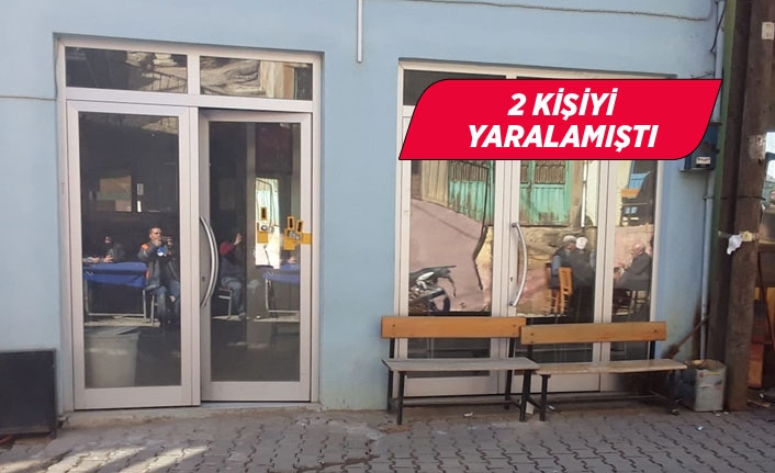 İzmir'de kahvehaneyi tarayan kişi yakalandı!