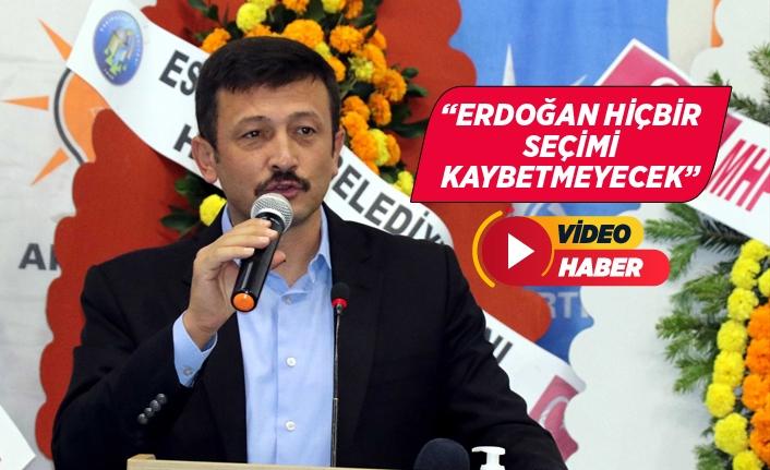 AK Partili Dağ, partisinin ilçe kongresinde konuştu