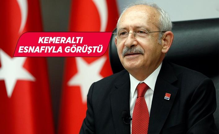 CHP Genel Başkanı Kılıçdaroğlu, İzmir esnafıyla görüştü