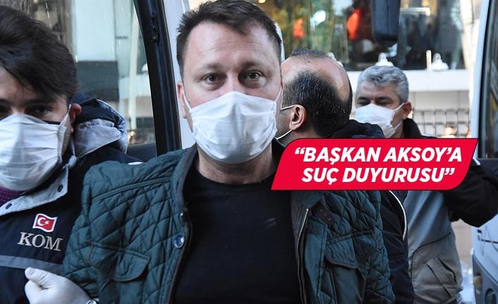Alacaklı firmadan Serdar Aksoy'a suç duyurusu