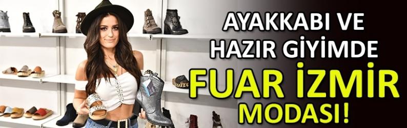 """Ayakkabı ve hazır giyimde  """"Fuar İzmir"""" modası"""