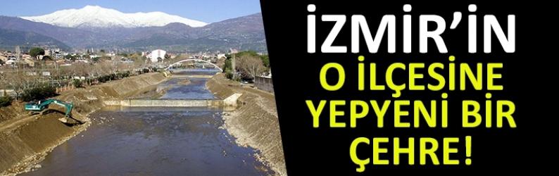 İzmir'in o ilçesine yepyeni bir çehre!