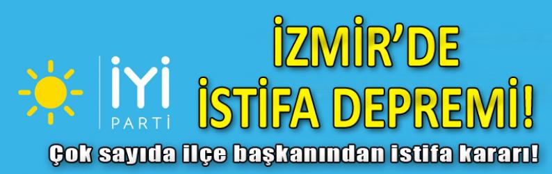 İYİ Parti İzmir'de çok sayıda ilçe başkanı istifa kararı aldı!