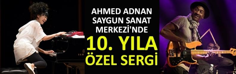 Ahmed Adnan Saygun Sanat Merkezi'nde 10. yıla özel sergi