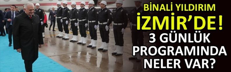 TBMM Başkanı Binali Yıldırım İzmir'de