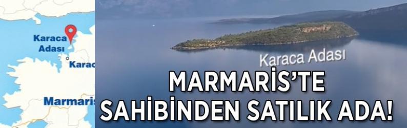 Marmaris'te sahibinden satılık ada!