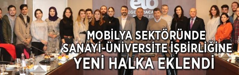 Mobilya sektöründe sanayi-üniversite işbirliğine yeni halka eklendi