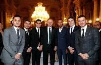 Cumhurbaşkanı sanatçı ve sporcularla iftar yemeğinde buluştu