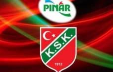 Pınar Karşıyaka'nın maçı ertelendi