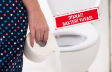 Tuvalette bunu yapmak çok zararlı!
