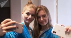 Böyle olur Rusya'nın güzelleri...