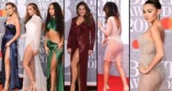 2019 BRIT Ödülleri'nde kırmızı halıda şıklık yarışı