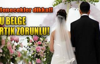 Evlilik İçin 'Ehliyet' Zorunluluğu