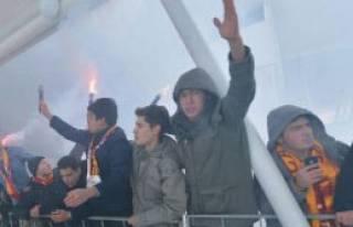 Galatasaray Sivas'a Geldi
