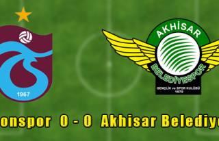 Trabzonspor 0 - 0 Akhisar Belediyespor