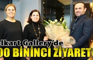 Folkart Gallery'de 100 Bininci Ziyaretçi