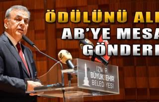 AB'ye İzmir Mesajı