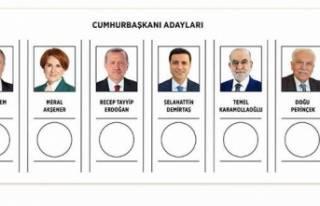 24 Haziran oy pusulaları tanıtıldı
