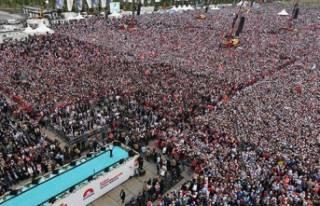 AK Parti'nin mitingine kaç kişi katıldı?